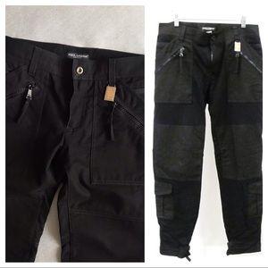 Authentic Dolce & Gabbana Cargo Bondage Pants
